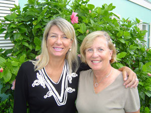 Nancy Hardy and Sally Lurie, new agents to Dale Sorensen Real Estate in Vero Beach, Florida.