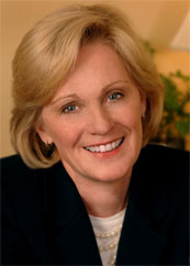 Betsy Franks, the new Vice President and Managing Broker of the Buckhead office of Harry Norman, Realtors.