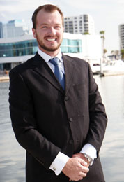 Craig Hoyle, a new agent with Michael Saunders & Company.