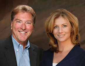 Greg Margheim and Kelly Sophinos, a top-producing team that has joined The Kentwood Company.