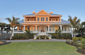 434 North Casey Key Road was recently sold for $4,850,000, a record price for a bay-front property here.