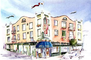 Edward II Inn and Suites was voted among the top three Most Romantic Hotels in San Francisco