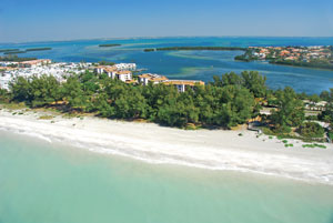 Michael Saunders & Company associates sold this Gulf-front home site in Longboat Key for a record price on Aug. 26.